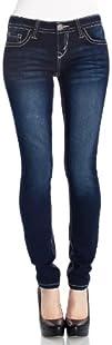 WallFlower Juniors Plus Size Classic Sassy Skinny Jeans