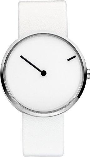 jacob-jensen-253-reloj-de-pulsera-unisex-piel-color-blanco