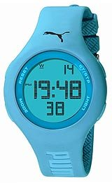 Puma Loop Chrono Digital Blue Dial Unisex watch #PU910801001