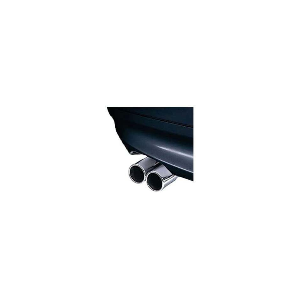 BMW Chrome Tailpipe Trim (set of 2)   3 Series Convertible 2007 2012/ 3 Series Coupes 2007
