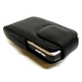 Blackberry Curve 8300, 8310, 8320, 8330 - mdx® 2nd Generation Lambskin Leather Pouch / Case / Holster with Rotating Clip