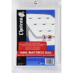 "Moving Supplies (1 Pack) King Size Mattress Cover / Bag 76X15X90"" Buy One For The Mattress And One For The Boxspring!"
