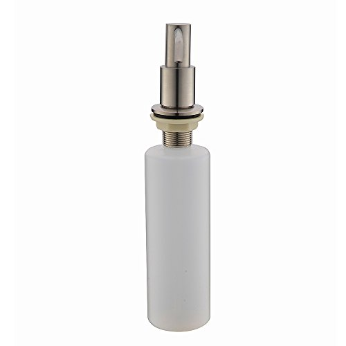 Kitchen Sink Hand Soap Dispenser: Comllen Commercial Brushed Nickel Stainless Steel Kitchen