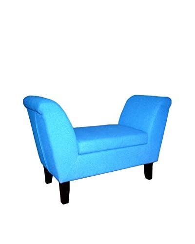 ORE International Storage Bench, Light Blue