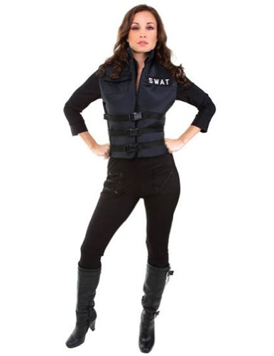 Lady Swat Xl Adult Womens Costume