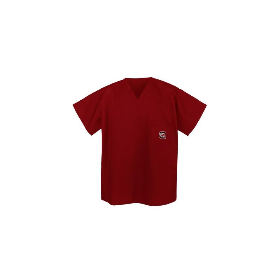 South Carolina Gamecocks Logo Scrub Shirt XL