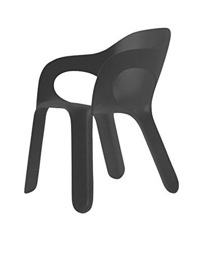 Magis Set Silla 4 Uds. Easy Chair Antracita