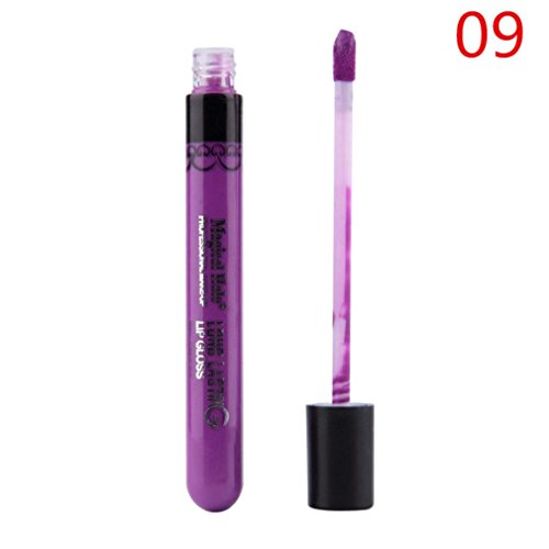 KissU Lip Gloss Lipstick Matte Velvet Waterproof Super Long Lasting Not Fade