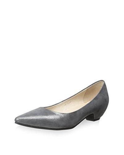 ALL BLACK Women's Wide Heel Pump