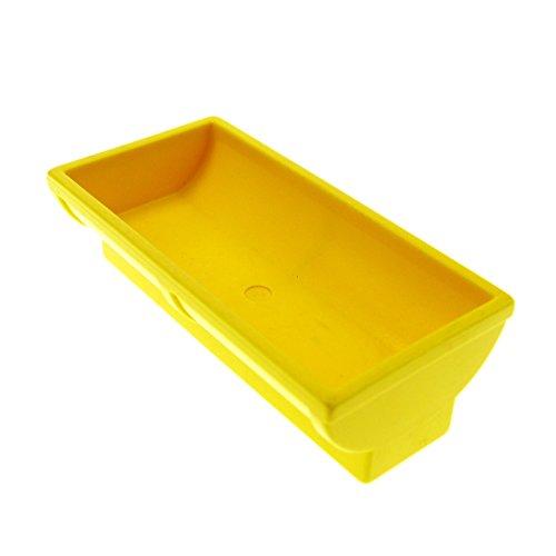 Trog Tier Tränke gelb Bauernhof Möbel Lego