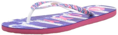 Roxy Women's Mimosa V Flip Flop,Blue/White,9 M US