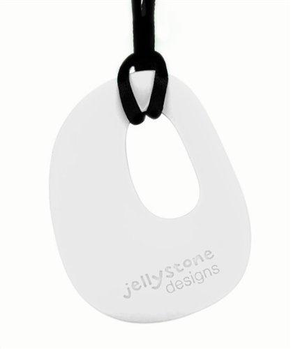 Jellystone-Design-Kette-mit-Anhnger-als-Nuckel-Ersatz-schneeweiss