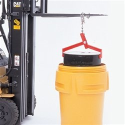Drum Lifter Metal Clamp for Safely Lifting Salvage Drums