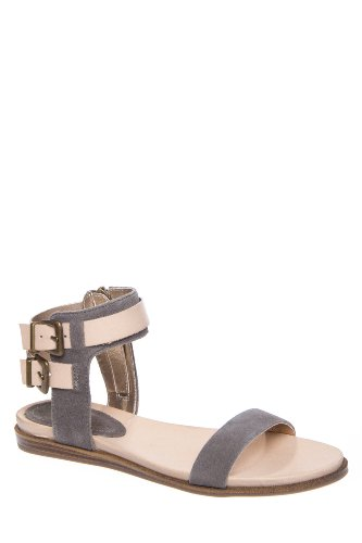 Kenneth Cole Open Net Flat Ankle Strap Sandal