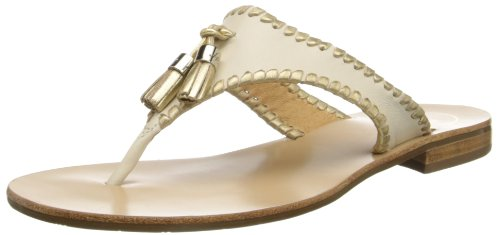 Women's Jack Rogers 'Alana' Leather Thong Sandal, Size 6.5 M