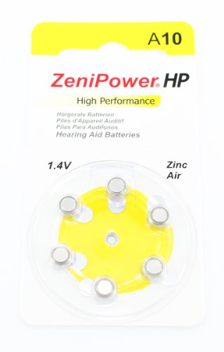 120 Hearing Aid Batteries, Size 10 Zenipower in Stock. Ships From United States. Expedited Shipping Available
