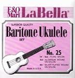 La Bella Baritone Ukulele Clear Nylon