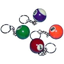 Ddi 33 Mm Billiard Keychain (Pack Of 80)