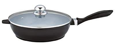 """Healthy Legend 11.2"""" Saute Pan with Non-stick German Weilburger Ceramic Coating - Induction Ready, ECO Friendly Non-toxic Cookware"""