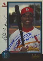 Pablo Ozuna St. Louis Cardinals 1998 Bowman Rookie Card Autographed Hand Signed... by Hall of Fame Memorabilia