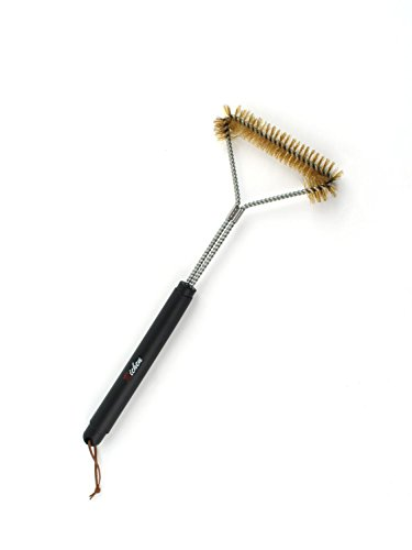 Richen Barbecue Brass Grill Brush,Heavy Duty 18