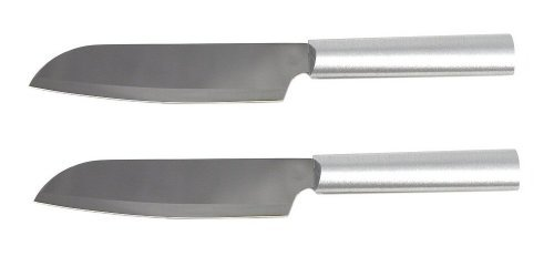 Rada Cutlery Cooks Utility Knife, Aluminum Handle, Pack Of 2