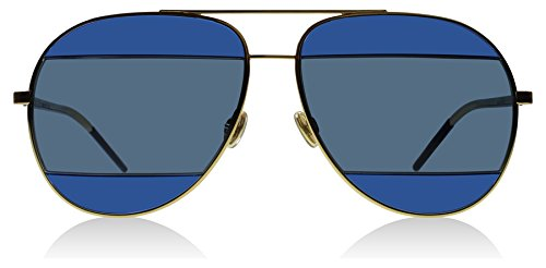 Dior-000KU-Rose-Gold-Blue-DiorSplit2-Aviator-Sunglasses-Lens-Category-3