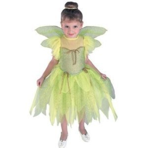 CHILD Tinkerbell Costume Peter Pan's Little Darling (see details on wings)