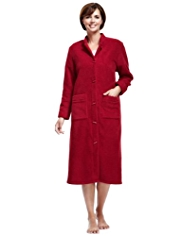 Nehru Collar Duffle Dressing Gown