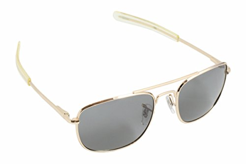 Humvee Pilot 52Mm Gold Sunglasses (Hummer Eyewear compare prices)