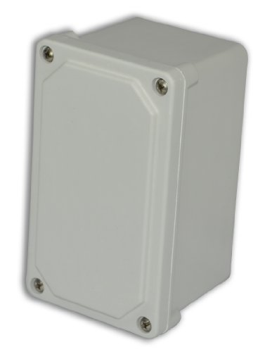 Allied Moulded Am743 Am Series Small Fiberglass Junction Boxes, Lift-Off Screw Cover