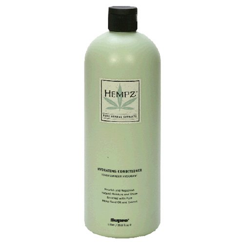 Buy Hempz Pure Herbal Extracts Hydrating Conditioner, 33.8 fl oz (1l) (Hempz Hair Conditioners, Conditioners)