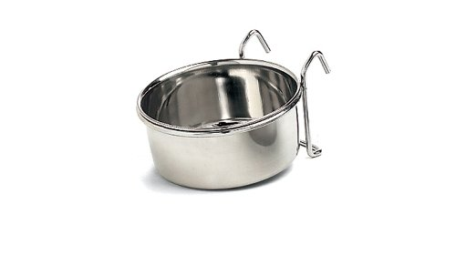 Ethical Stainless Steel Coop Cup, 30-Ounce (Water Dish For Bird Cage compare prices)