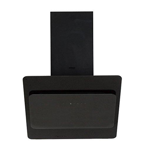 HINGUCKER! EDLE Dunstabzugshaube 60cm kopffrei/MODELL 2014/Komplett in Schwarz mit großer Schwarzglasfrontblende/Saugstark 1000m³/h/5 Stufen Touch Control Steuerung/Inkl.Fernbedienung+Abluftschlauch/Nachlaufautomatik/Filtersättigungsanzeige/Abzugshaube/Dunsthaube/Esse/Wandhaube/UVP649EUR/PREISKNALLER