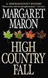 High Country Fall (143529338X) by Maron, Margaret