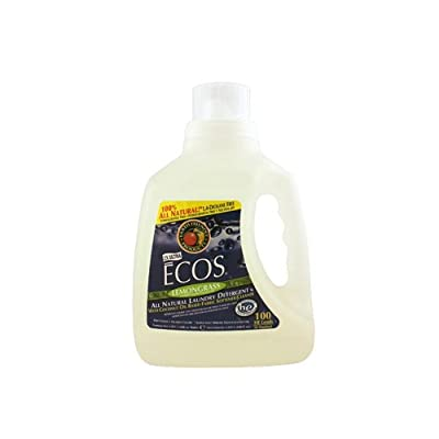 Earth Friendly Ecos Ultra 2x All Natural Laundry Detergent - Lemongrass - Case of 4 - 100 fl oz