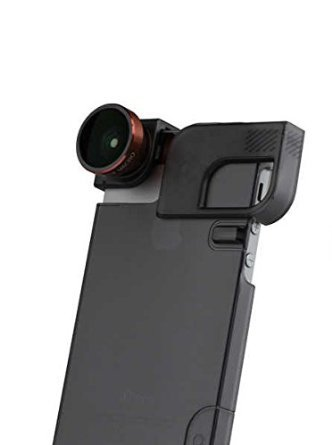 Quick Flip Case & Lens System for iPhone 5/5s Red/Black by Olloclip