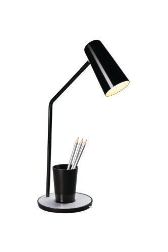 Lampe Bureau MASSIVE Jason noire E14 12W