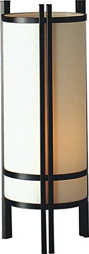 "24""H Japanese Shoji Style Metal/ Cloth Table Lamp - 2029(U)"