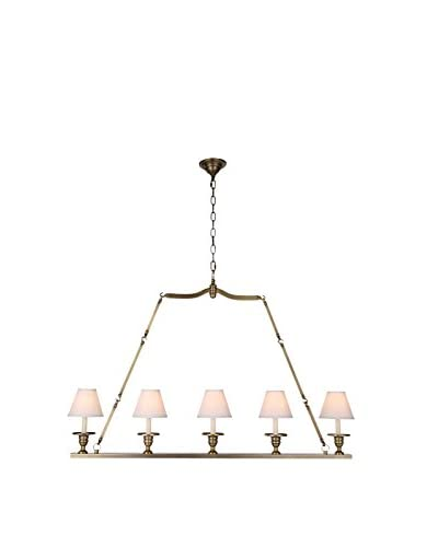 Urban Lights Cambria 3-Light Wall Fixture, Burnished Brass