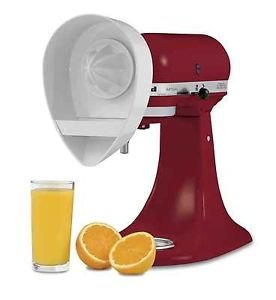 New Kitchenaid Juicer Attachment For Stand Mixer Je 4164748 Orange Lemon Juice front-125371