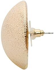 Stoln Stud Earrings For Women (Golden) (7509-1-09-018155)