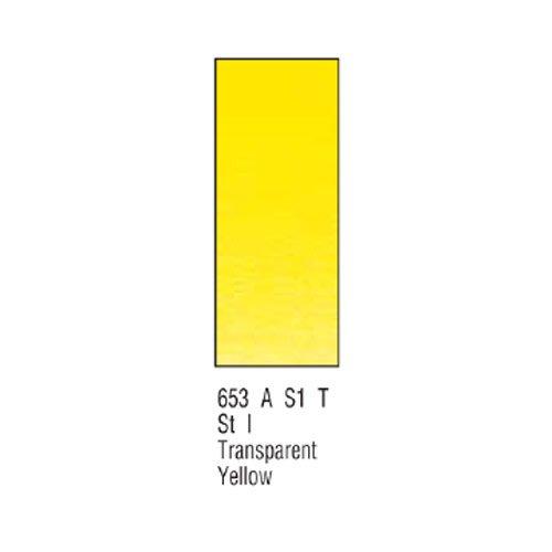 Winsor newton & artists-aquarelle 14 ml-transparent jaune