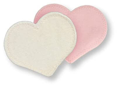 Bamboobies Ultra Soft and Thin Washable Nursing Pads, Wrinkle Free, Reusable