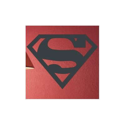 Superman Wall Decal Size: 16