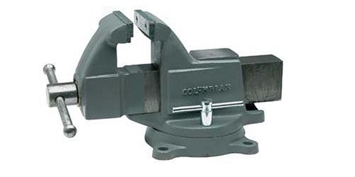 Columbian 10203 604m3 4 inch jaw width by 6 inch opening machinist vise hand tools kit 6 inch bench vise