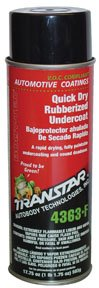 Quick Dry Rubberized Undercoating - 24 oz. Aerosol-by-TRANSTAR