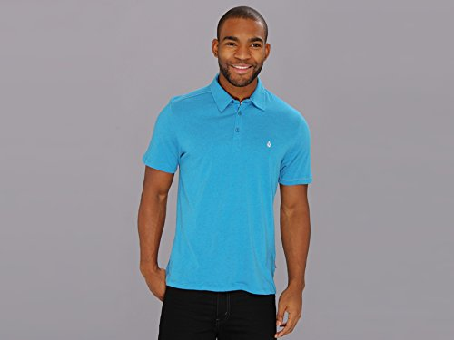 Volcom Men'S Wowzer Polo, Electric Blue, Medium
