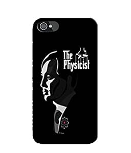 EU4IA BIG BANG THEORY MATTE FINISH 3D MATTE FINISH Back Cover Case For iPhone 4s - D510
