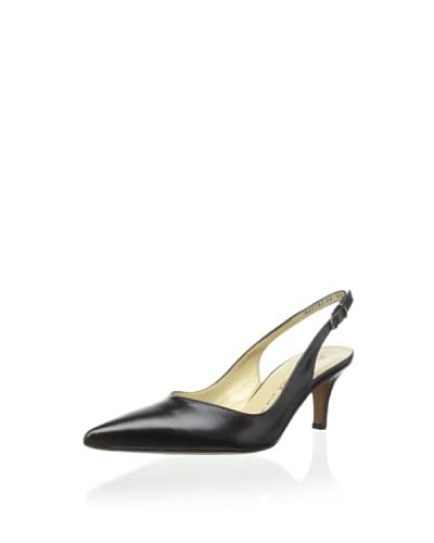 Peter Kaiser Women's Slingback Pointed-Toe Pump  [Black]